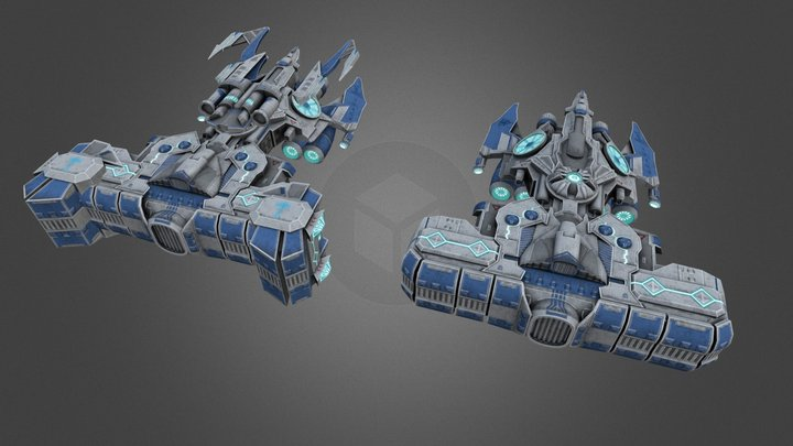 Hammerhead 3D Model