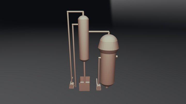 Concentratore 3D Model