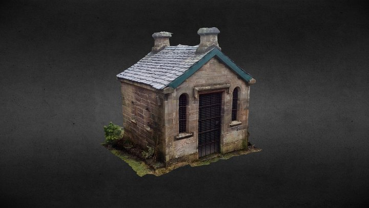 Watchhouse, Cadder Parish Church 3D Model