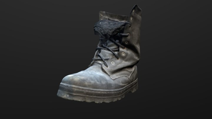 Boot - 3d scan (photogrammetry) 3D Model