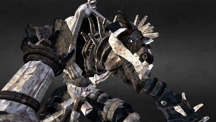 Colossus 3D Model