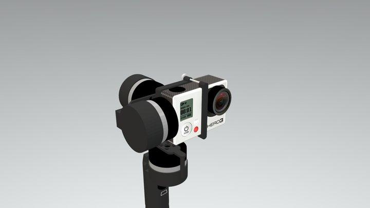 Cinemount - 3 Axis Handheld Gimbals - 3D Model