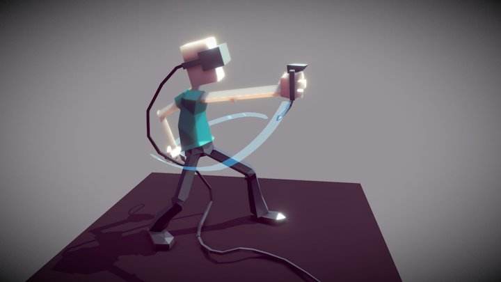 Roomscale VR guy 3D Model