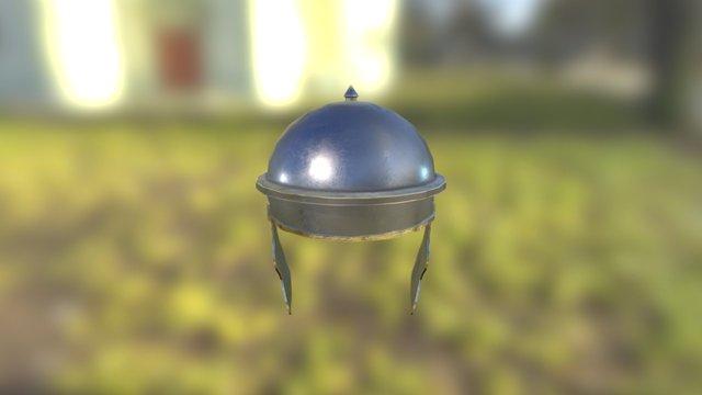 Roman Helmet 3D Model