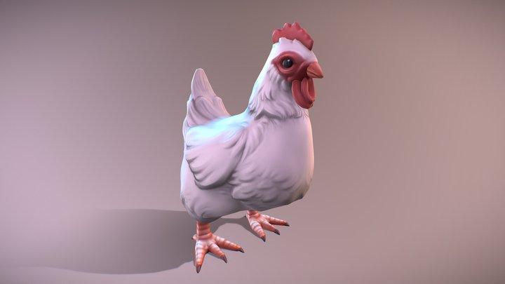 Chicken Companion 3D Model