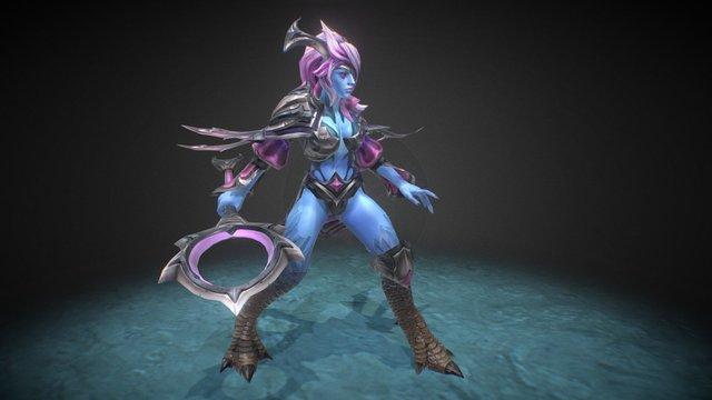 Azurewrath - Dota 2 Vengeful Spirit set 3D Model