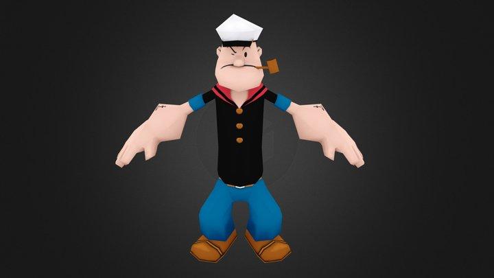 Popeye 3D Model
