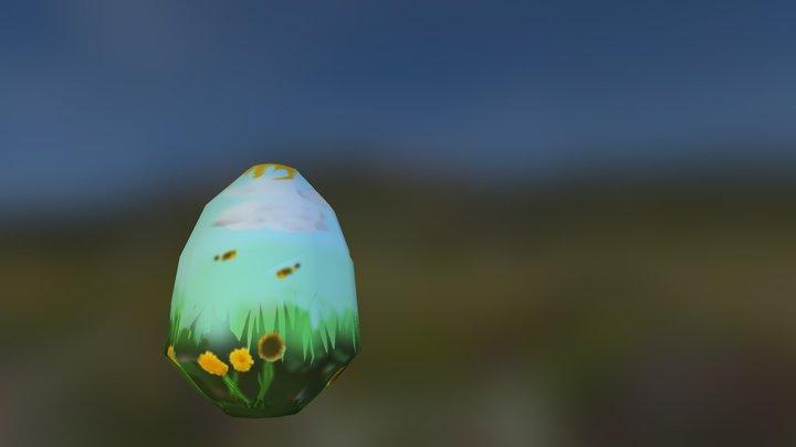 Easter Egg Missy 3D Model