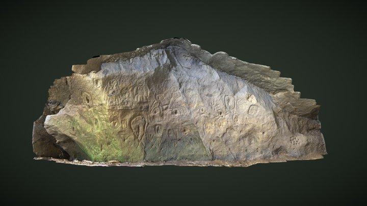 Cueva Playa Colun 3D Model