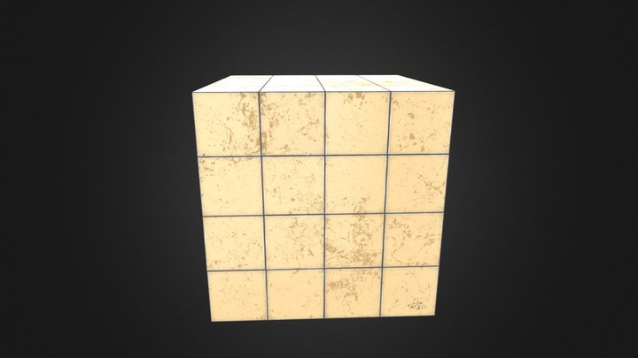Marble PBR texture 3D Model