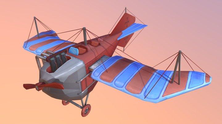 Jeannin Stahltaube 1914 3D Model
