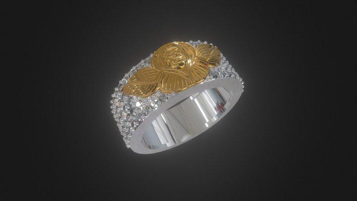 Angel Wings Ring- 3D Model