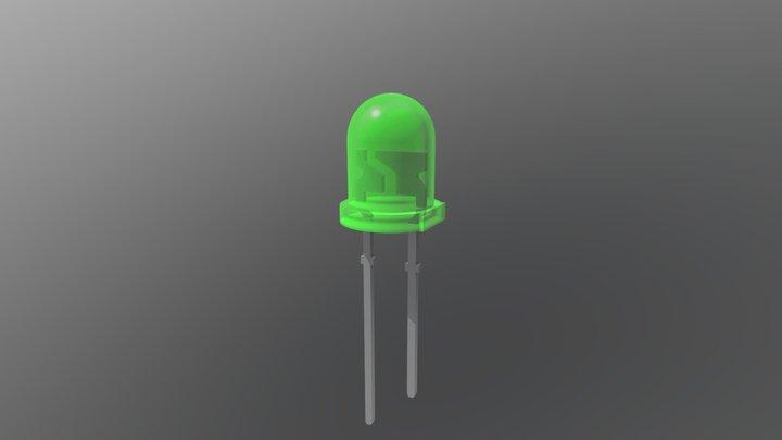 LED green 3D Model