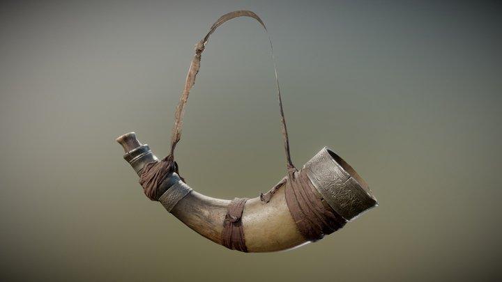 War Horn 3D Model