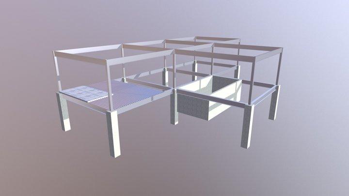 HB-001 3D Model
