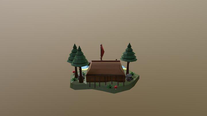 Viking- Keep it low poly 3D Model