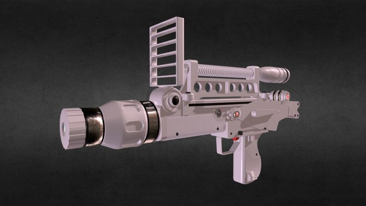 Moonraker Laser Rifle 3D Model