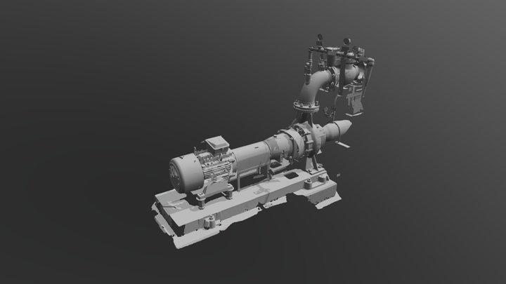 Pompe Scanner Portable 3D Model