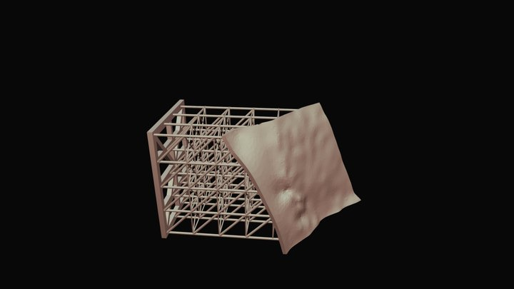 Skyview Boulder Block A 3D Model