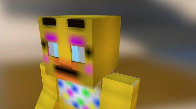 Chica 3D Model