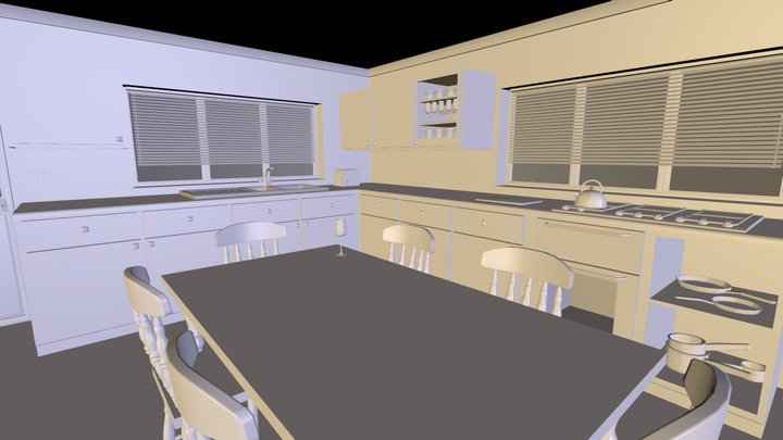 Kitchen.zip 3D Model