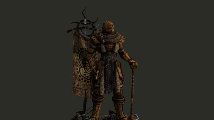 Rust Adept 3D Model