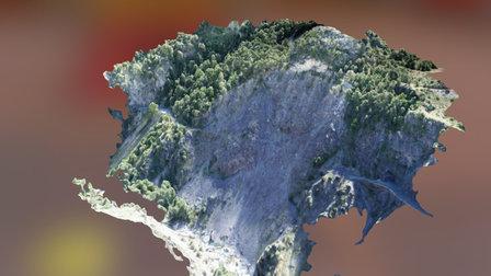 Guillestre evaluation glissement de terrain 3D Model