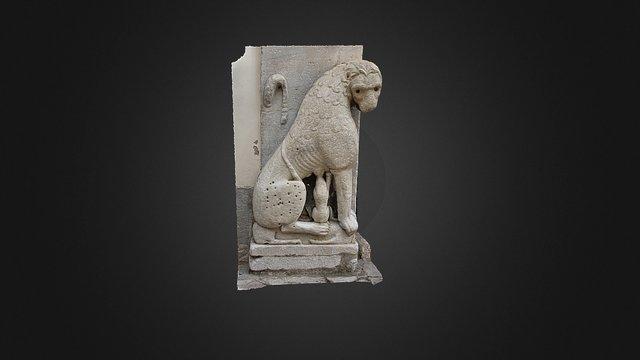 Scultura di Leonessa - XII secolo 3D Model