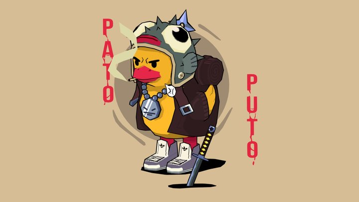 Pato Puto! 3D Model