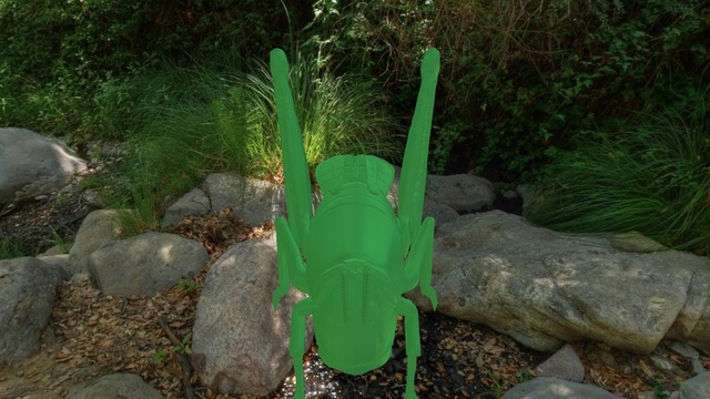 Locust 3D Model