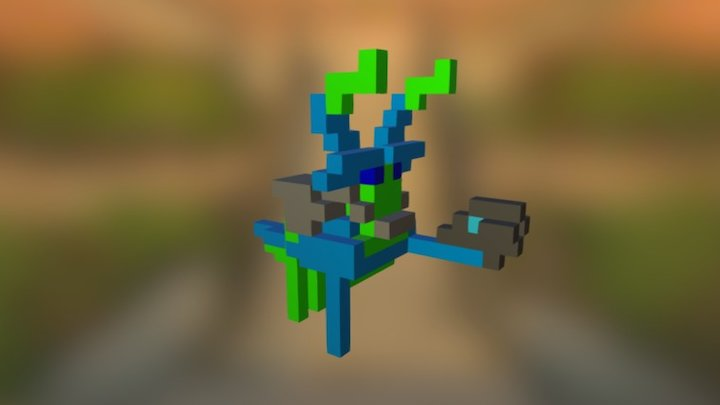 Gandor Ali 3D Model