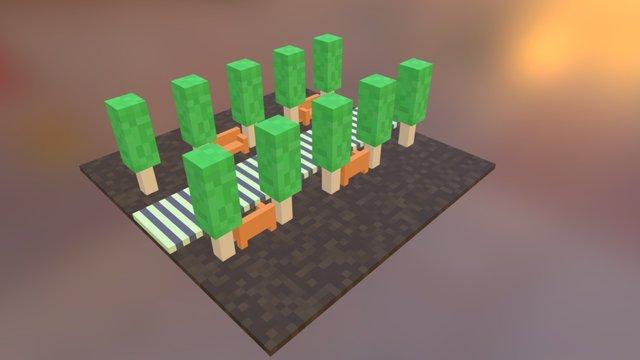 Little Park 3D Model