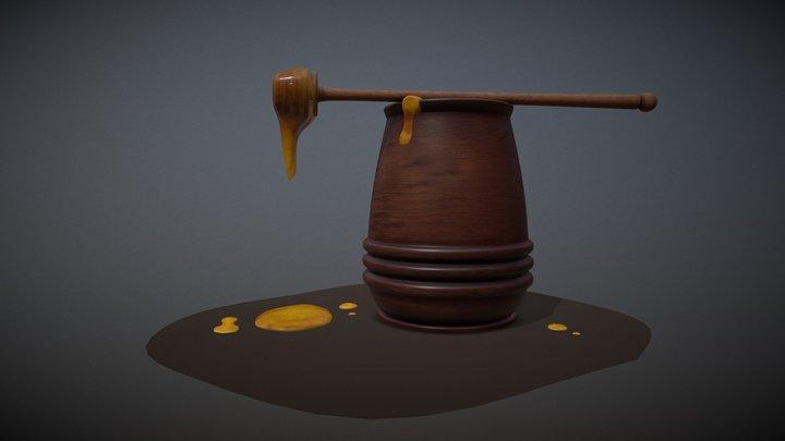 Honey 3D Model