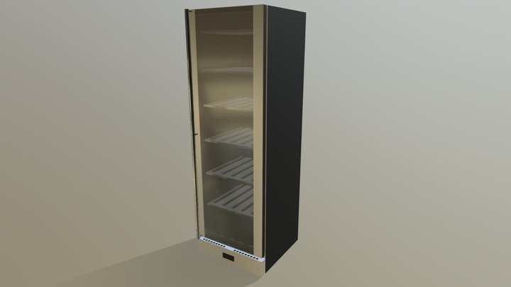 SCV115AS-FULL-HEIGHT-WINE-COOLER 3D Model