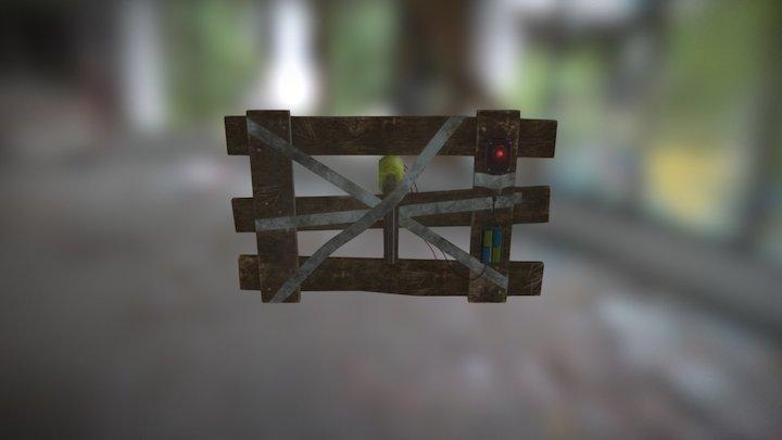 Nail Gun Trap 3D Model