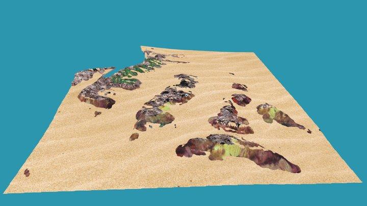 Pierres du large - La Ciotat (France) 3D Model