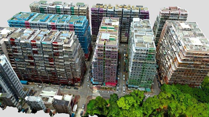 Chungs Blocks, Hong Kong 3D Model