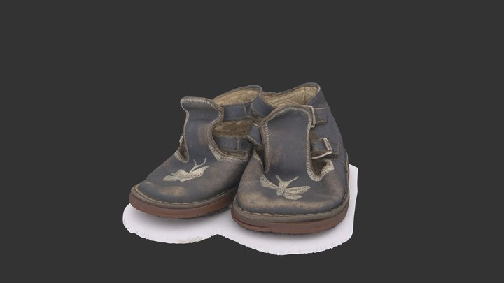 Pedja's first shoes 3D Model