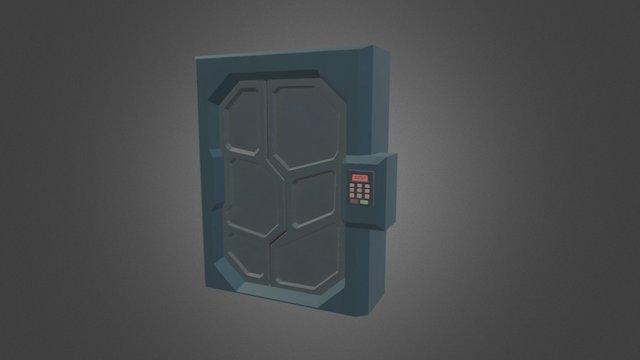 Sci-Fi Door [Spaceship Indweller] 3D Model