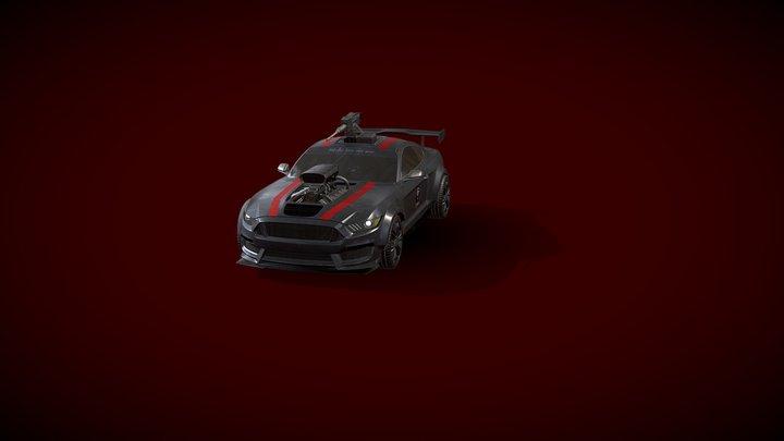 SHELBY GT500 3D Model