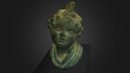 Roman bronze steelyard weight (statera) 3D Model