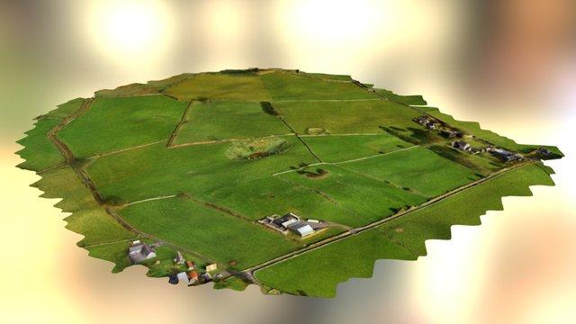 Farm 01 Simplified 3d Mesh 3D Model