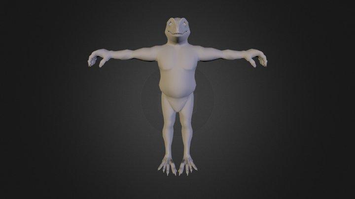LizardMan 3D Model