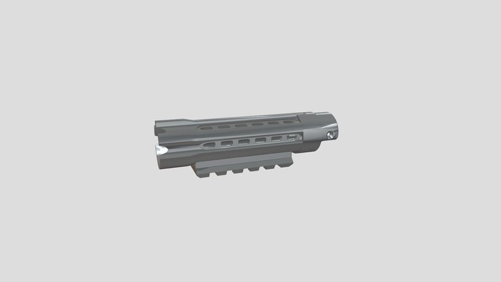 AAP01 outer barrel model 3D Model