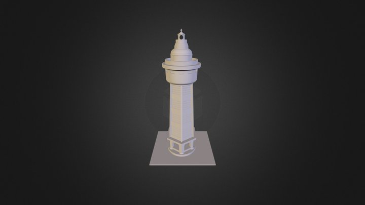 Lighthouse Majak 3D Model
