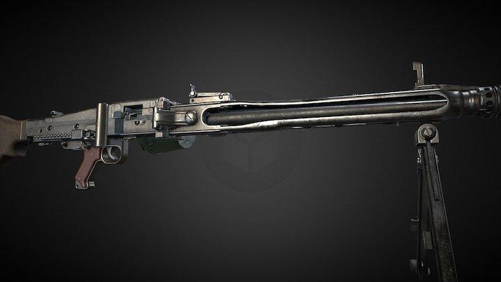 MG42 3D Model