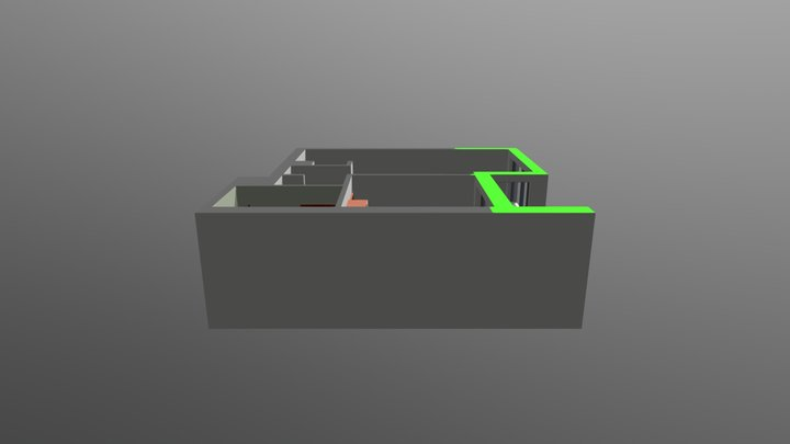 CHM model M203 3D Model