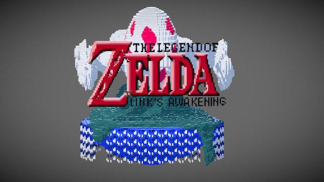 Legend of Zelda Link's Awakening : Tribute 3D Model