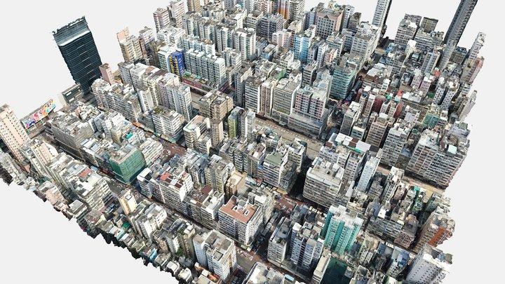 Old District, Hong Kong 3D Model