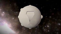 Sci Fi Sphere Simple2012 3D Model